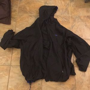 Athletic works packaway windbreaker. XL black